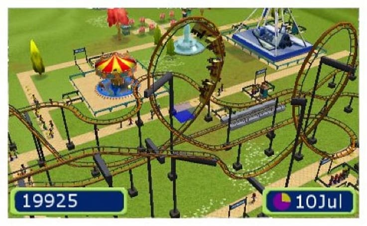 Rollercoaster Tycoon takes a thrill ride to 3DS in 2012
