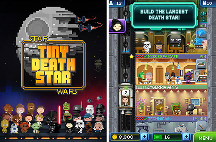'Star Wars: Tiny Death Star' puts you to work for the Empire in glorious 8-bit
