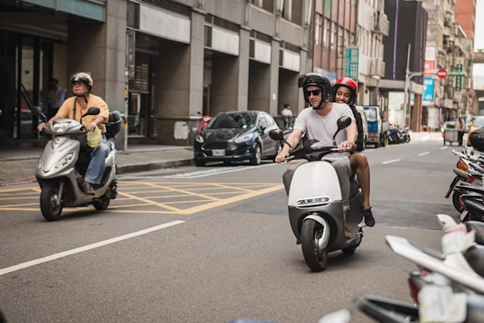 Gogoro rides its battery-swapping electric scooter into Amsterdam