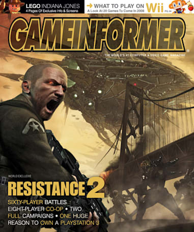 Resistance 2 revealed in latest Game Informer [UPDATE]