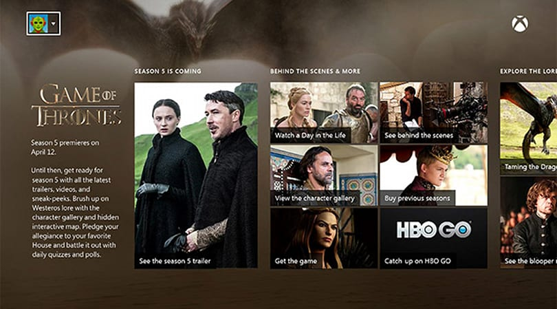 Xbox Live members get the 'Game of Thrones' premiere for free
