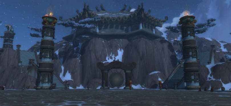 A Monk's Refuge: Exploring the Peak of Serenity in Mists of Pandaria