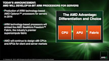 AMD promises 64-bit ARM-based Opteron server CPUs coming in 2014