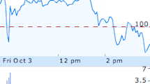 AAPL touches 52-week low, closes under $100