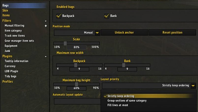Addon Spotlight: Bags and Banking