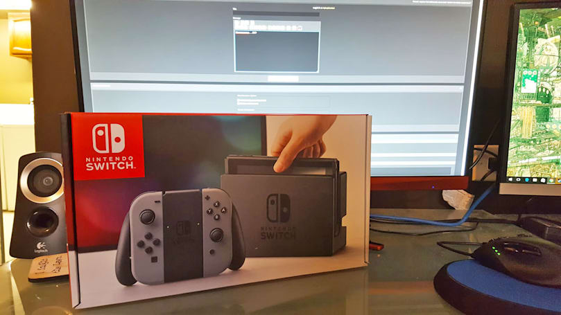 Some poor soul has a Nintendo Switch, but no games (updated)