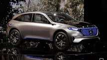 Mercedes will put an 'EQ' badge on its best electric cars
