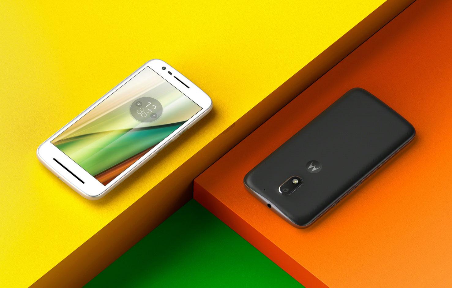 موتورولا تكشف النقاب عن الجيل الثالث من هاتف Moto E