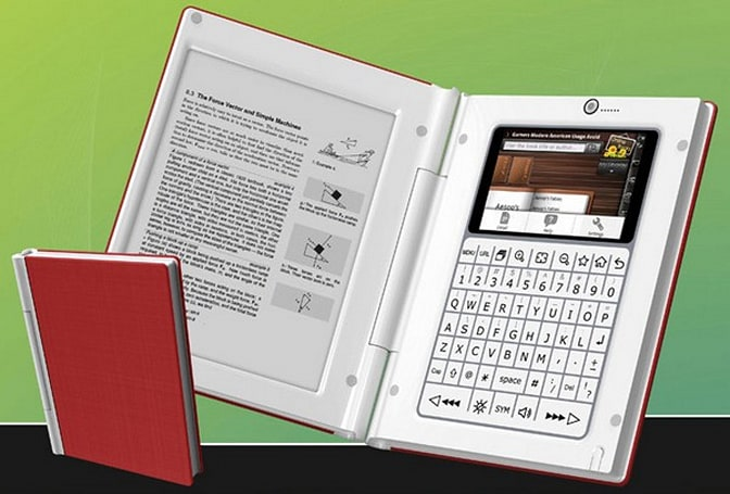 1Cross Tech MIDhybrid is the Android-powered e-reader that looks like a book (video)