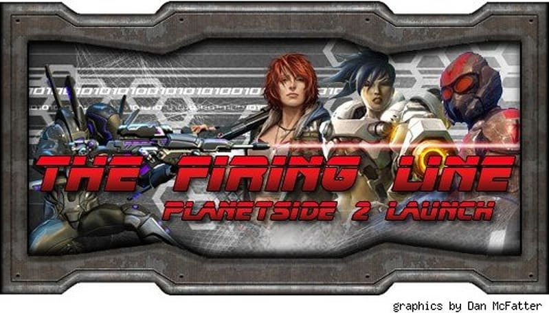 The Firing Line: PlanetSide 2 in a thousand words or less