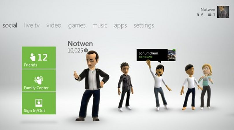 Xbox Live adds cloud saves, 'beacons' that tell friends what you want to play