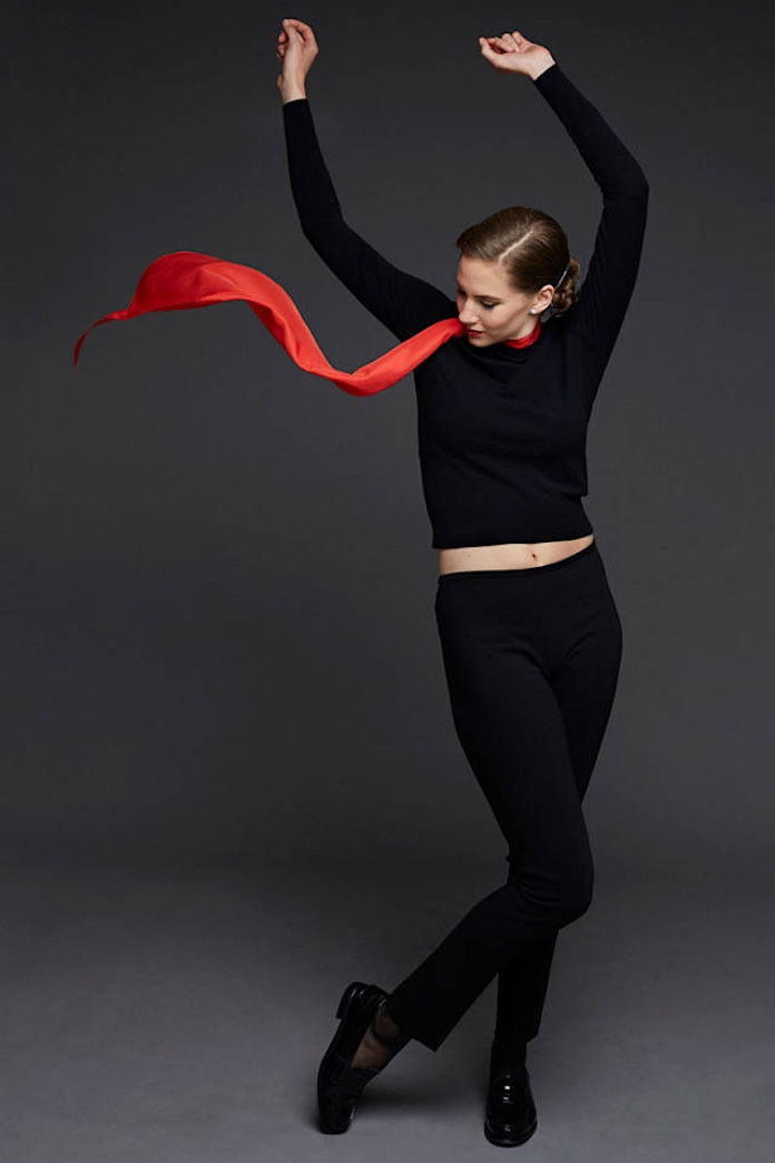 Audrey Hepburn's granddaughter signs modeling contract