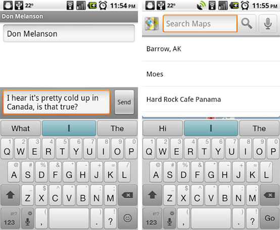Swiftkey Android keyboard goes HD, adds new tongues and improved language prediction