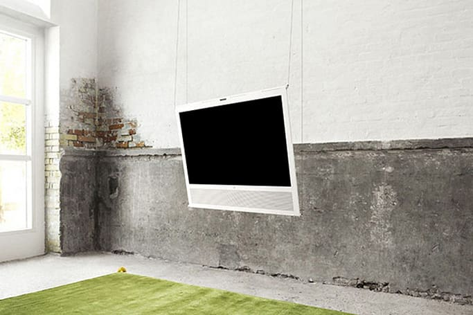 Bang & Olufsen caters to the iOS crowd with Apple TV-friendly BeoPlay V1 TV set, A3 iPad speaker dock (update)