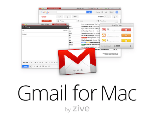 Gmail for Mac by Zive seeks to make the perfect desktop Gmail client