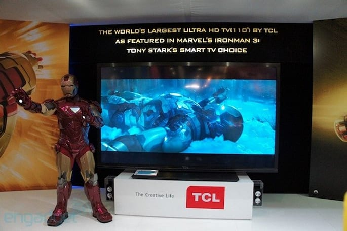 TCL shows off MoVo Google TV box, 'China Star' 110-inch 4K TV
