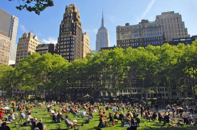 New York's Bryant Park is tracking visitor behavior