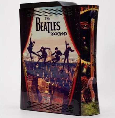 Harmonix auctions off custom Beatles Xbox for charity, free publicity