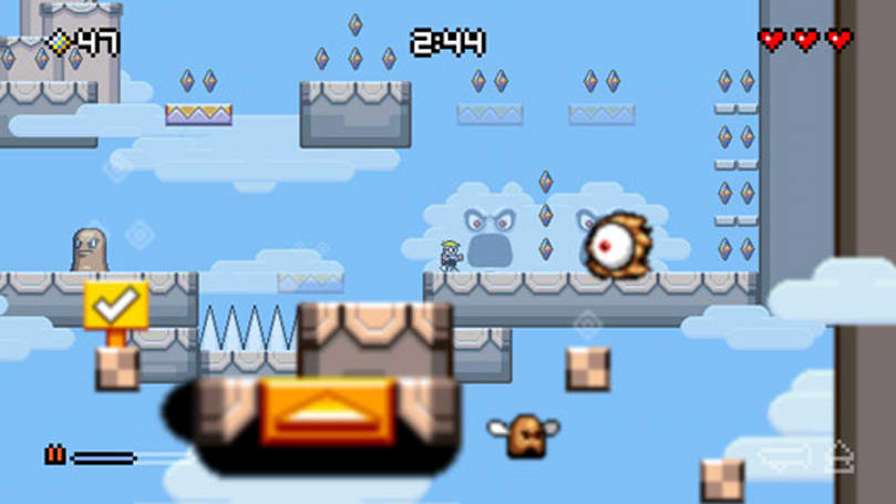 Mutant Mudds Deluxe washes up on PlayStation Plus this week