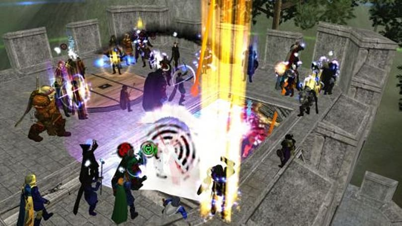New Dark Age of Camelot video shows off relic raid test-run