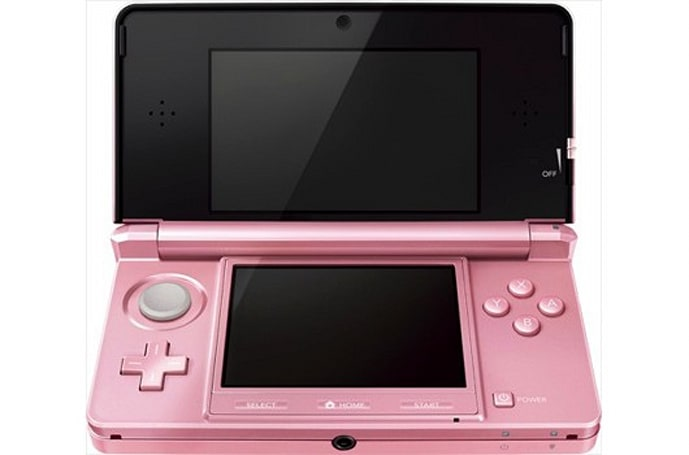 Nintendo targeting women with new pink 3DS in Japan on October 20