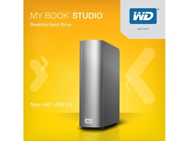 Western Digital boosts entire MyBook Studio line with USB 3.0, adds 4TB model to the mix
