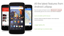 Google's next Lollipop update shows up on an Android One phone