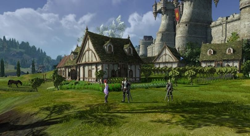 New ArcheAge video shows off 34 minutes of housing gameplay
