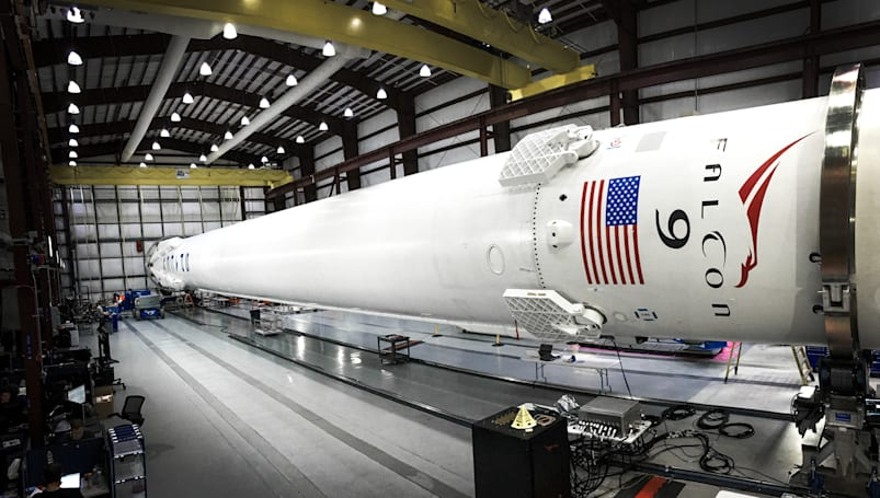SpaceX is on target for a launch-and-land attempt Sunday