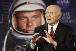 John Glenn, the first American to orbit the Earth, dies at 95