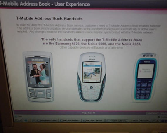 T-Mobile launches T-Mobile Address Book