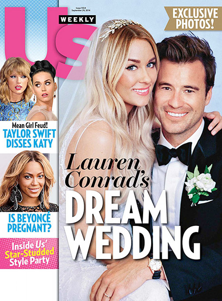 Top 9 at 9: See Lauren Conrad's first wedding photo and more