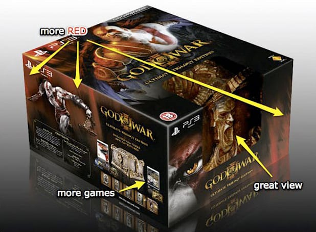 God of War III Ultimate Trilogy Edition: The Ultimate Box