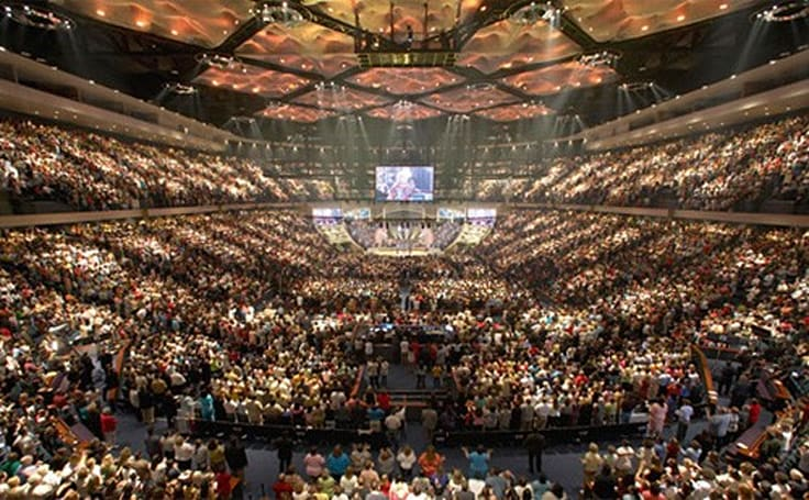 Megachurches look to take sermons to a higher definition