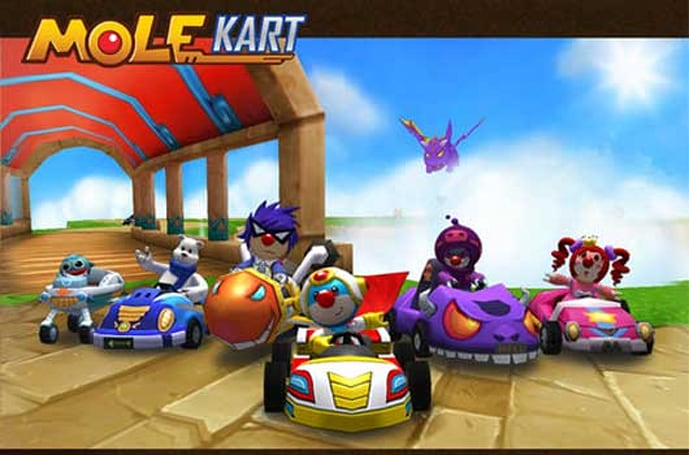Mole Kart is the iOS Mario Kart rip-off you never wanted