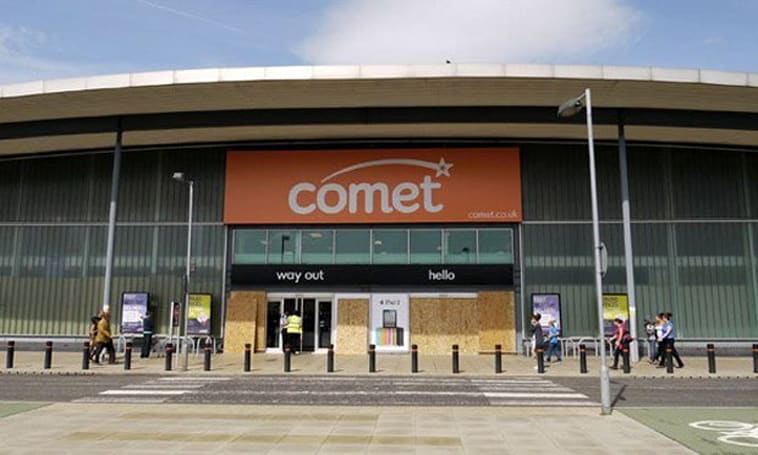 Comet closing last UK stores for good tomorrow