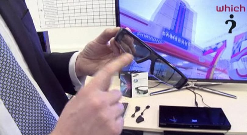 Samsung's new 3DTVs get an early eyes-on, through $150 shutter glasses