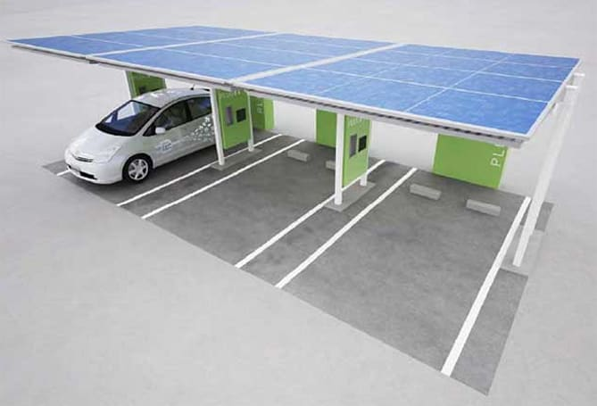 Toyota's plug-in hybrids getting companion charging stations next year in Japan