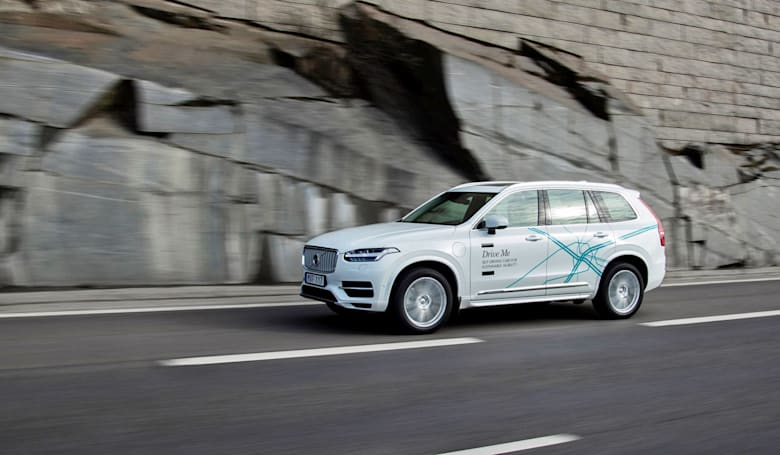 Volvo will test self-driving cars on the public next year