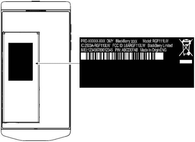 BlackBerry's upscale P'9982 visits the FCC sporting AT&T-ready LTE