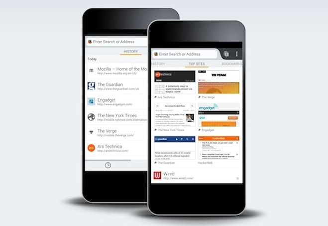 Firefox Beta brings new 'Home' design to Android, desktop version gains Firefox OS app manager
