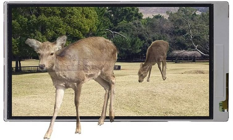Sharp details new 3D screens for mobile devices