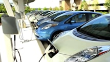 Nissan adopts 15 EV chargers, is first on nappy duty (video)