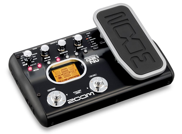 Zoom G2Nu and G2.1Nu guitar effects pedals offer direct USB recording