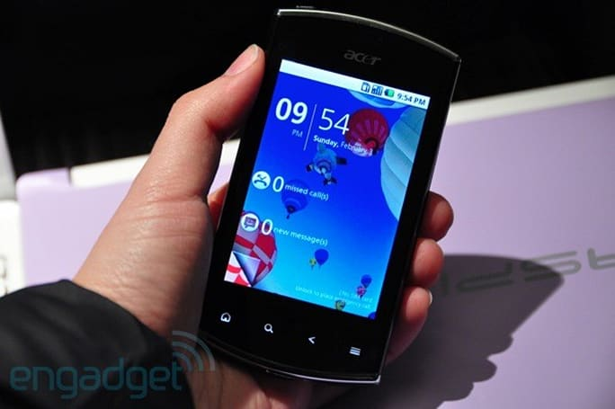 Acer Liquid Mini and BeTouch E210 hands-on