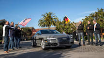Audi's self-driving car is traveling 550 miles to Las Vegas