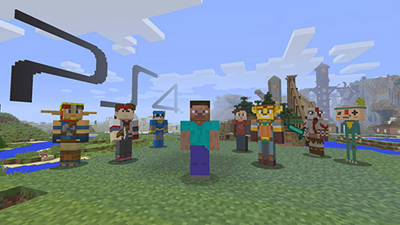 Minecraft enters final testing before PlayStation 4 debut