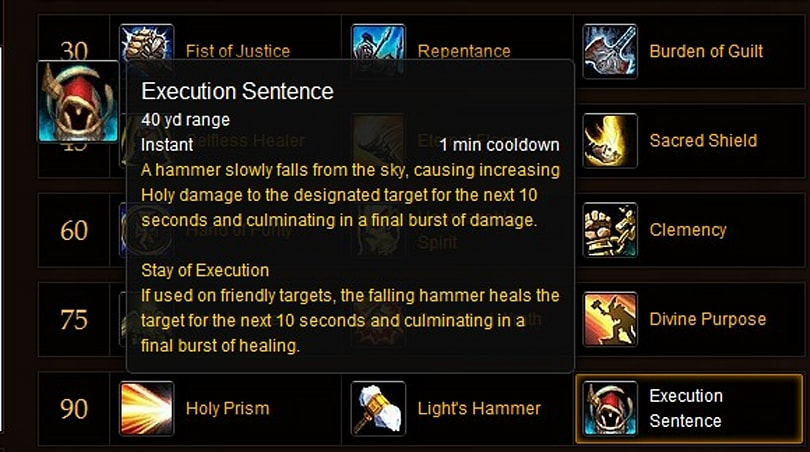 4 major updates for holy paladins in Mists of Pandaria