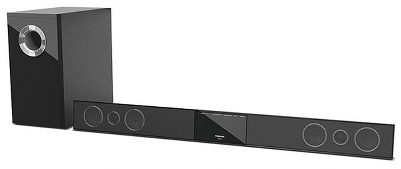 Toshiba tries its hand at home theater audio with the SBX4250 Sound Bar