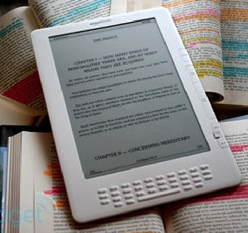 Amazon Kindle slimming down in August?